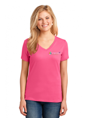 Ladies V Neck Tee
