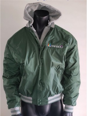 BaceBall Jacket with Hood