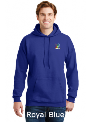 Cotton Pullover Hooded Sweatshirt